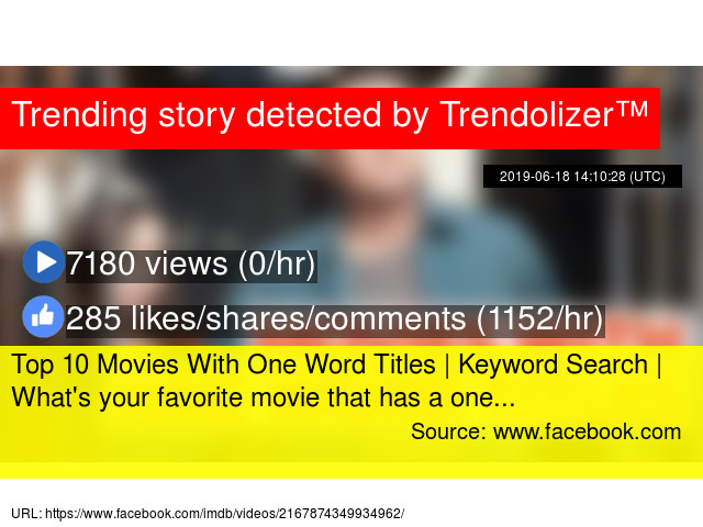 Top 10 Movies With One Word Titles | Keyword Search | What's