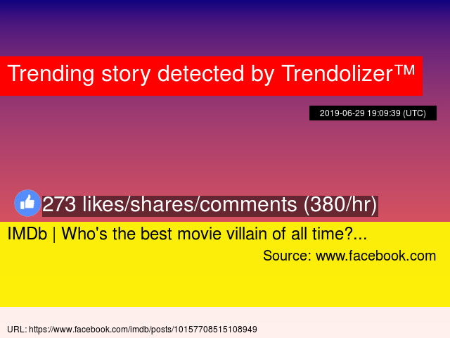 IMDb | Who's the best movie villain of all time?...