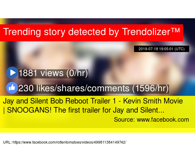 Jay and Silent Bob Reboot Trailer 1 - Kevin Smith Movie