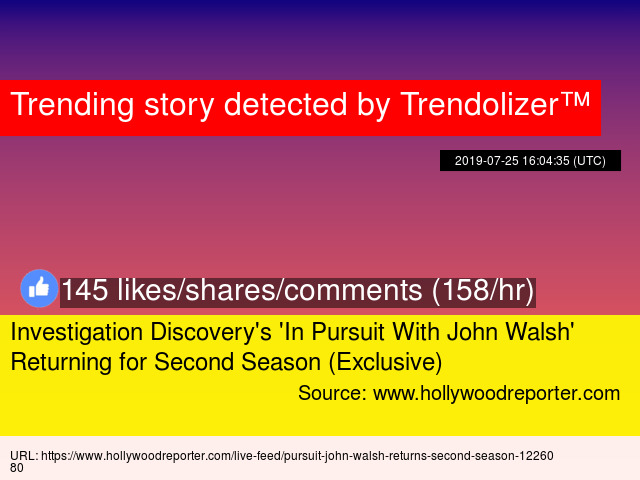 Investigation Discovery 039 S 039 In Pursuit With John