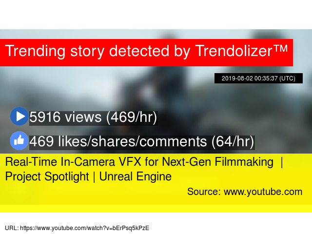 Real-Time In-Camera VFX for Next-Gen Filmmaking | Project Spotlight