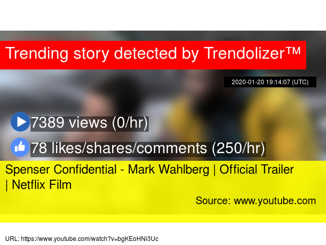 Spenser Confidential Mark Wahlberg Official Trailer Netflix Film