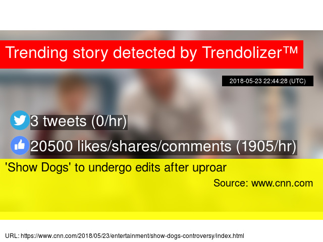 show dogs controversy